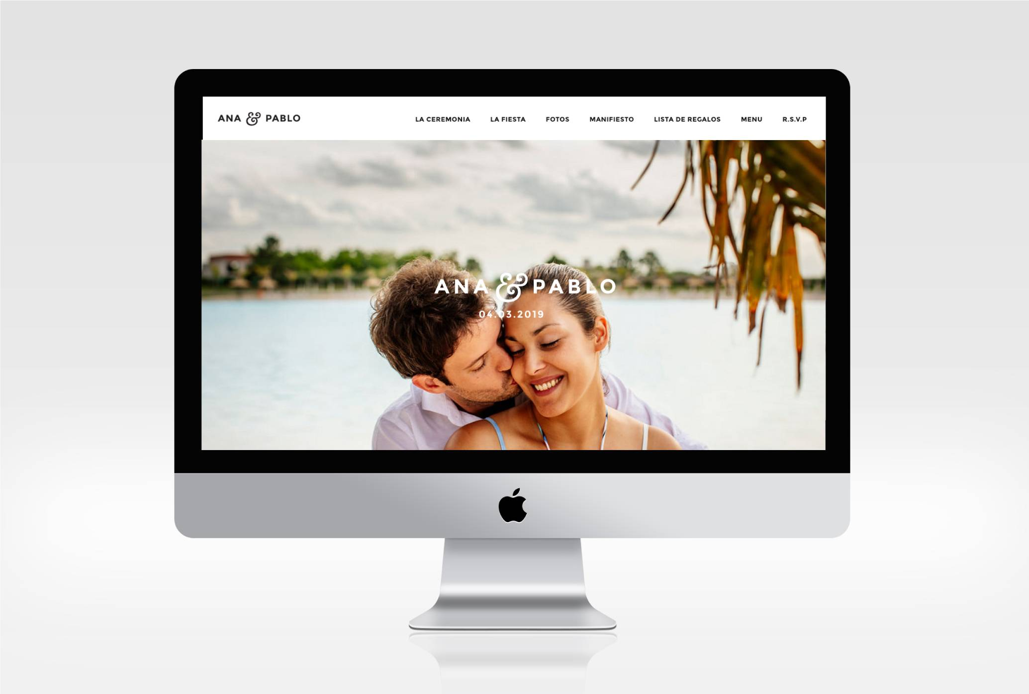 Website Casamiento