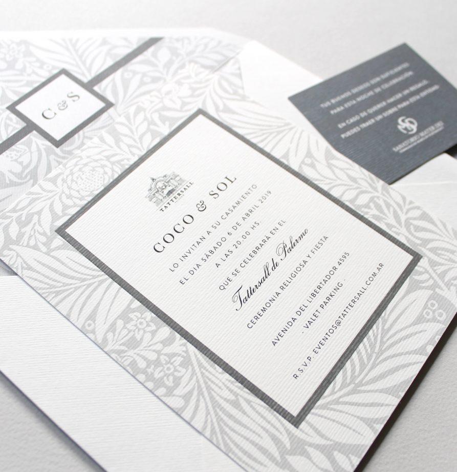 """""""Versalles"""" INVITACION DE CASAMIENTO"""