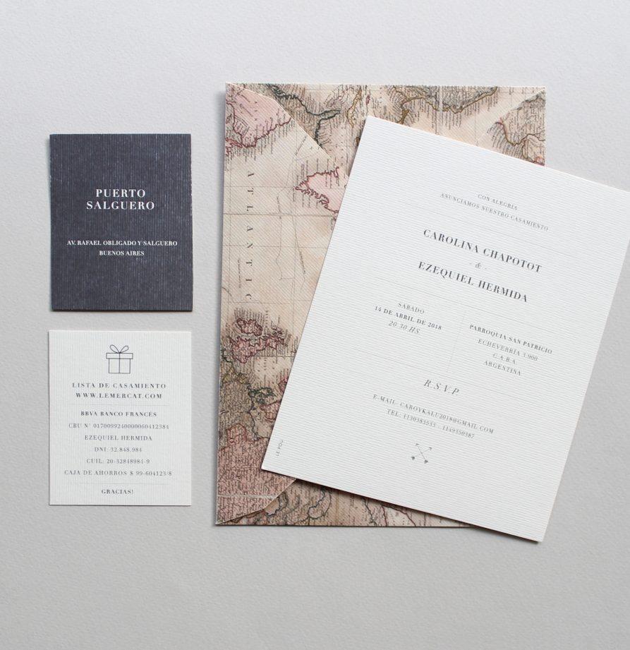 """""""Kyoto"""" INVITACION DE CASAMIENTO"""