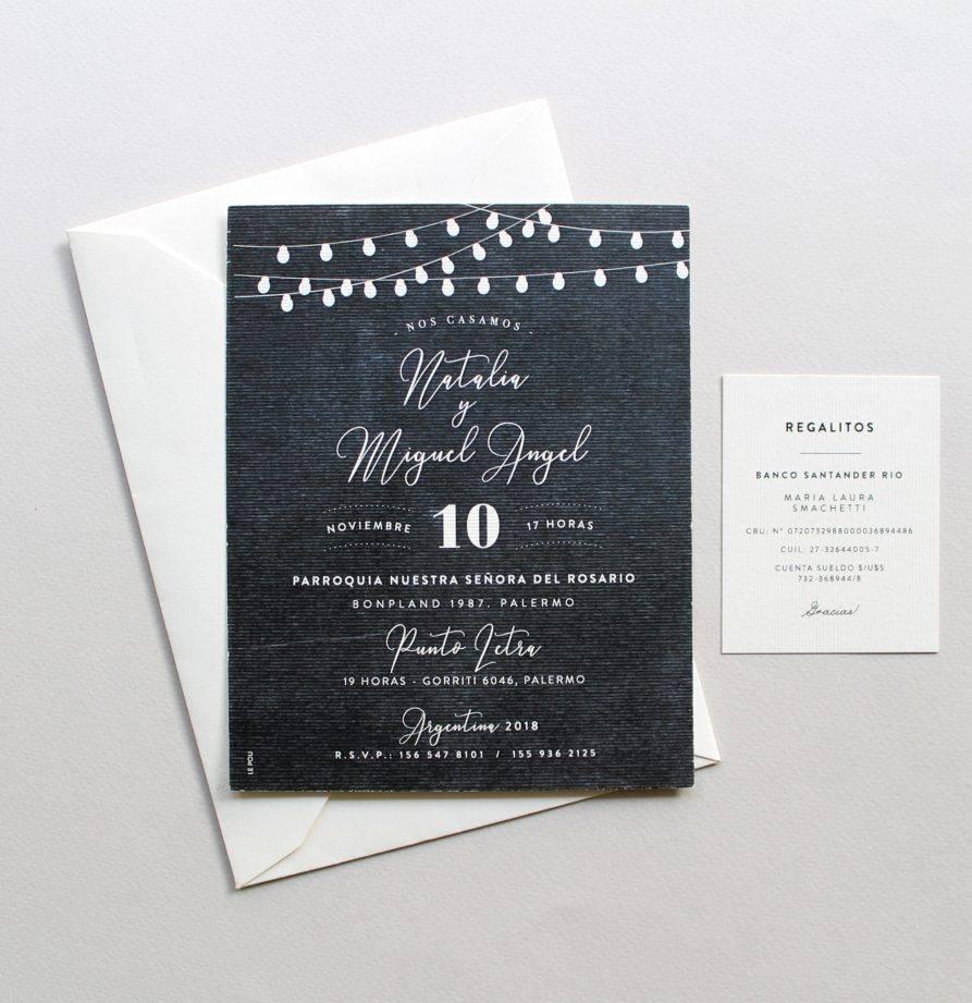 """Budapest"" INVITACION DE CASAMIENTO"