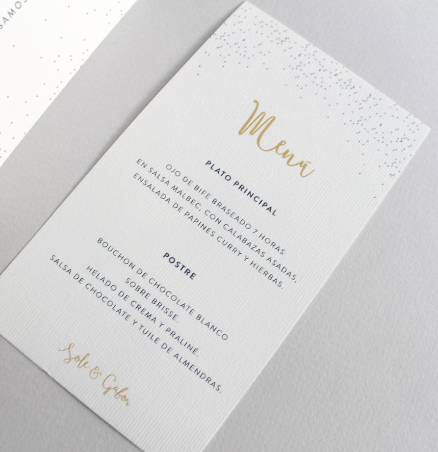 """""""Viena"""" INVITACION DE CASAMIENTO"""