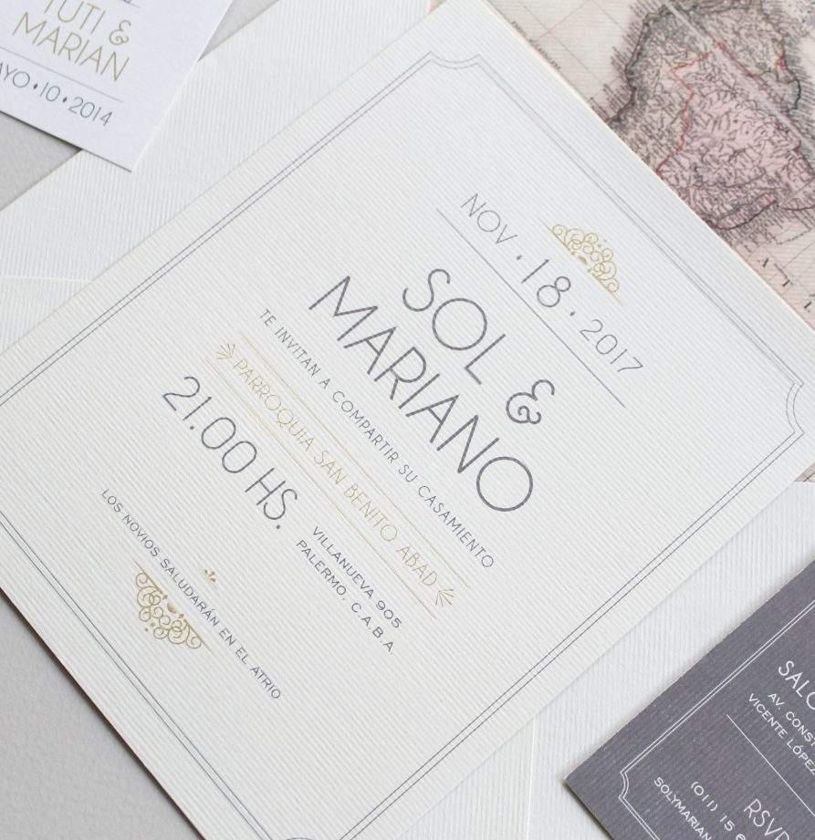 """""""Marrakech"""" INVITACION DE CASAMIENTO"""
