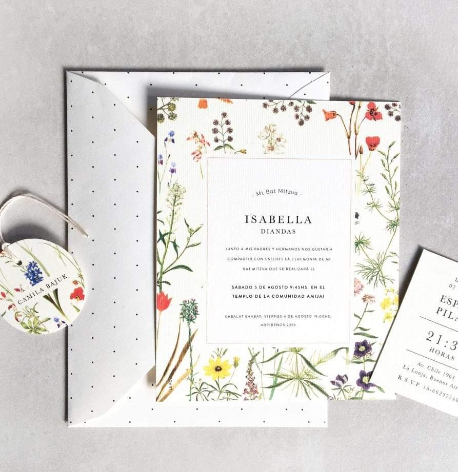 """Isabella"" INVITACION MITZVA"