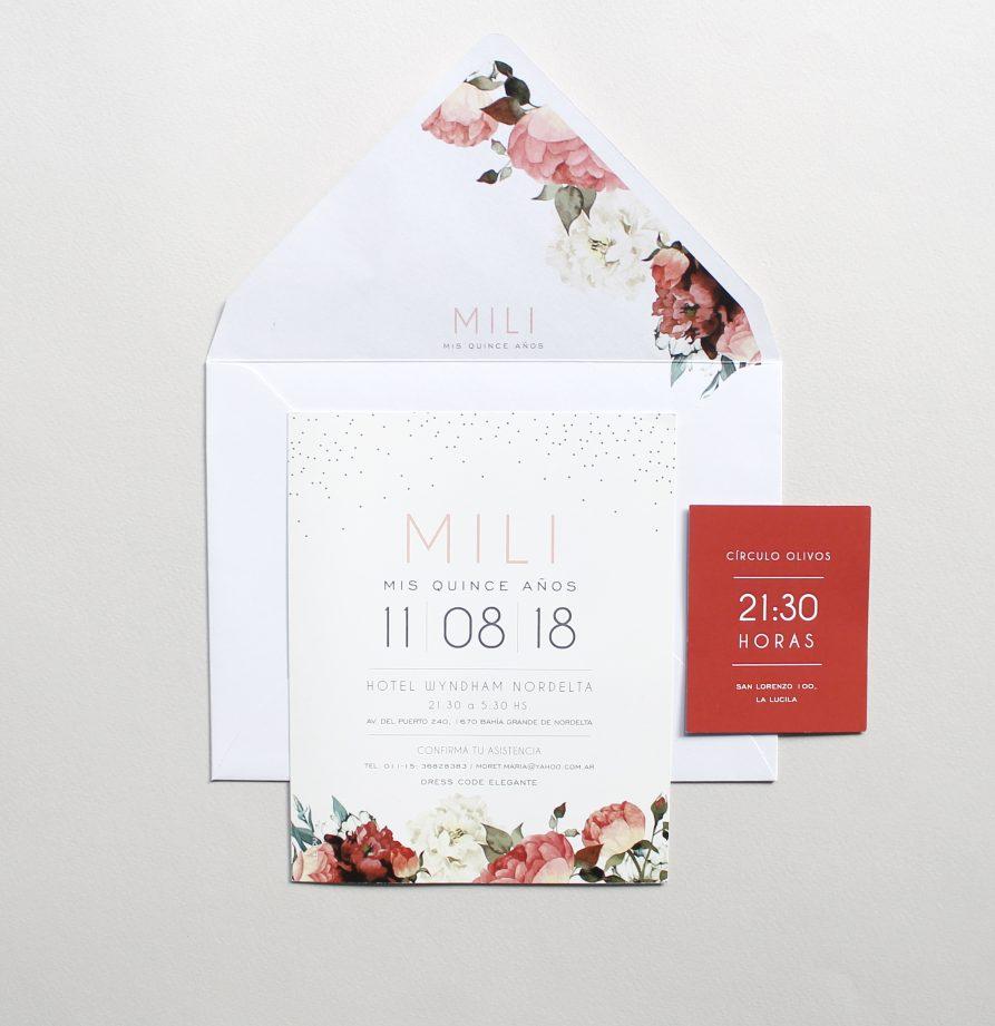 """Mili"" INVITACION DE QUINCE"