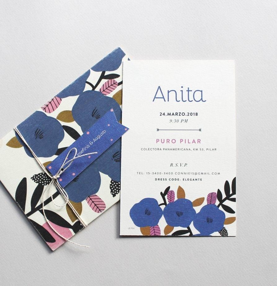 """""""Anita"""" INVITACION DE QUINCE"""