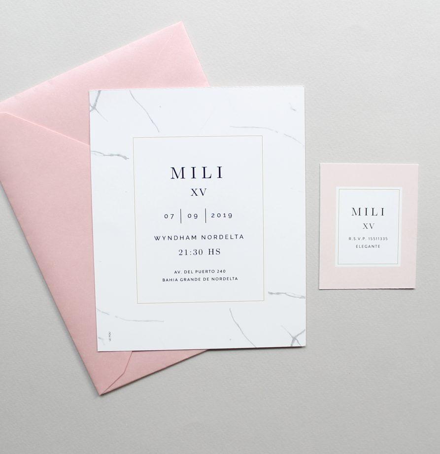 """""""Julia"""" INVITACION DE QUINCE"""