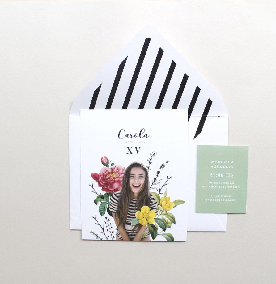 """""""Carola"""" INVITACION DE QUINCE"""