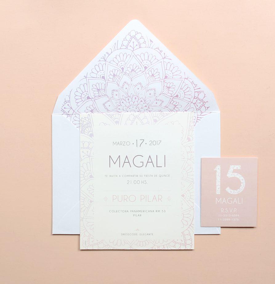 """Maga"" INVITACION DE QUINCE"