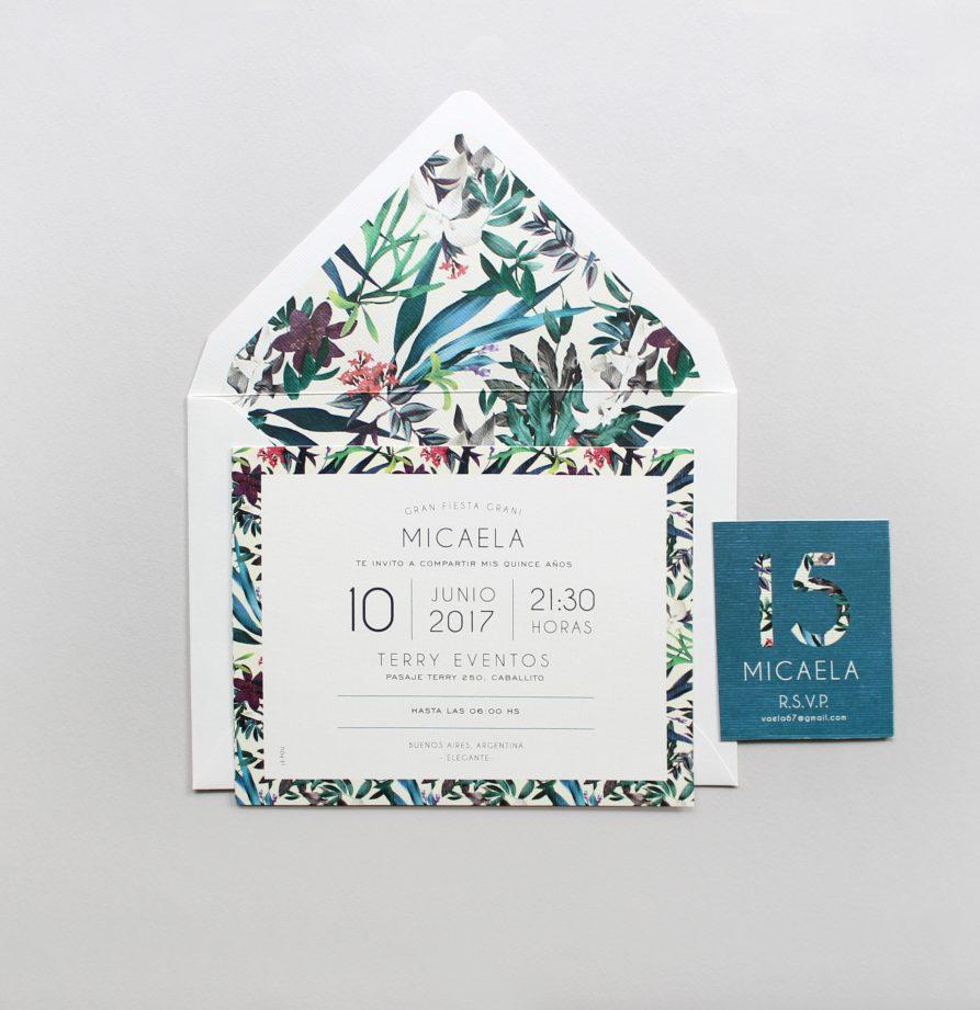 """""""Francisca"""" INVITACION DE QUINCE"""