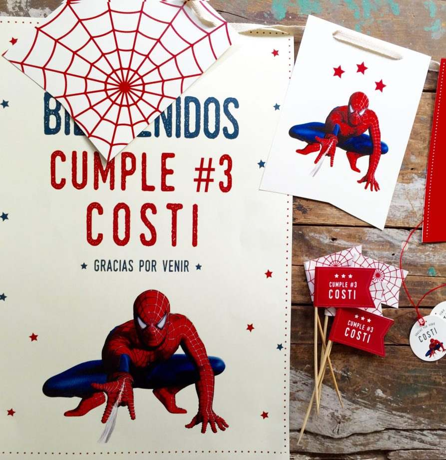 "Cumple ""Spiderman"""