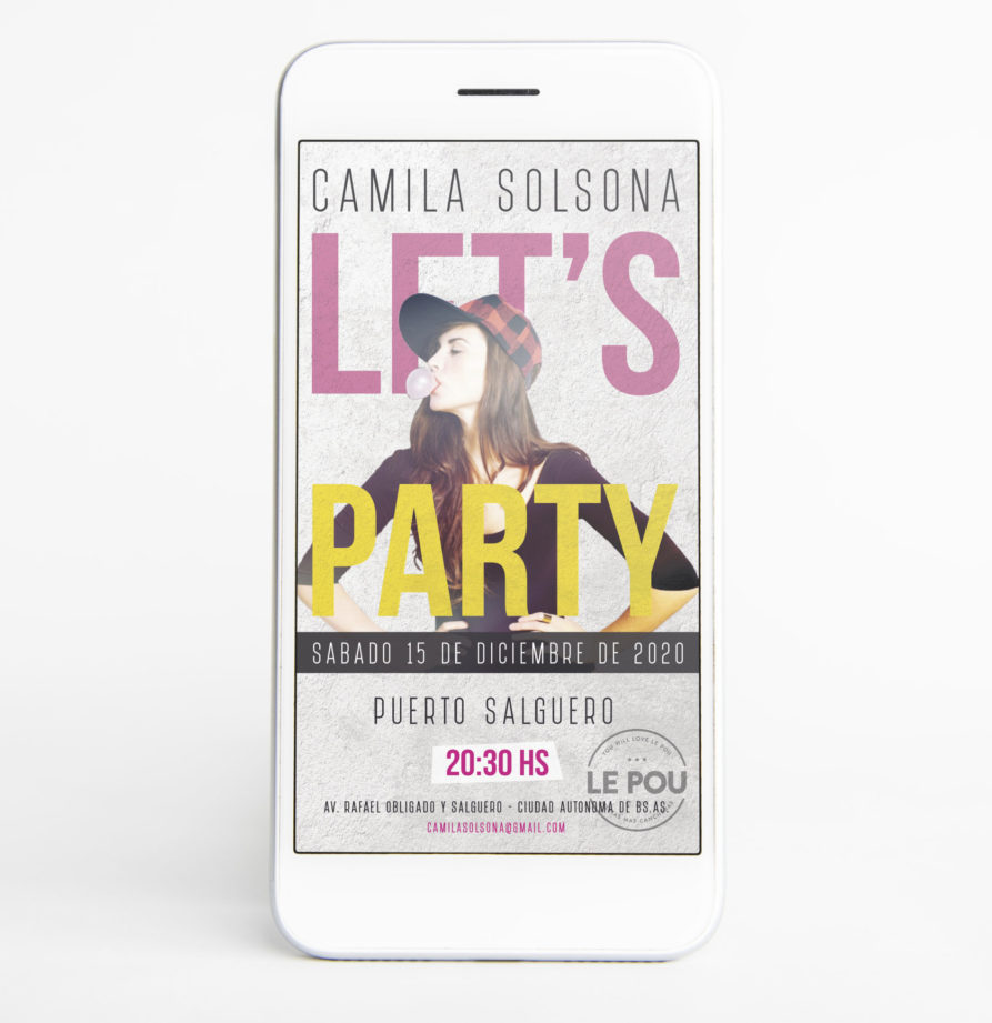 "Invitacion Digital ""Paula"""