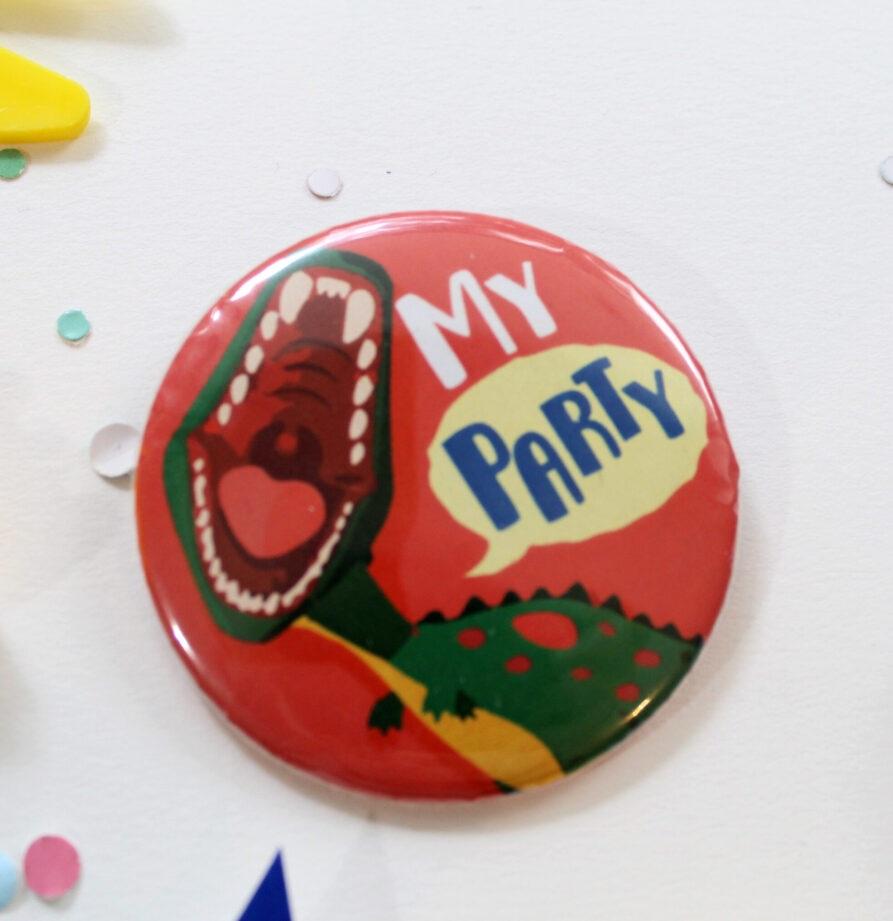 """Pin """"Dinosaurio"""""""