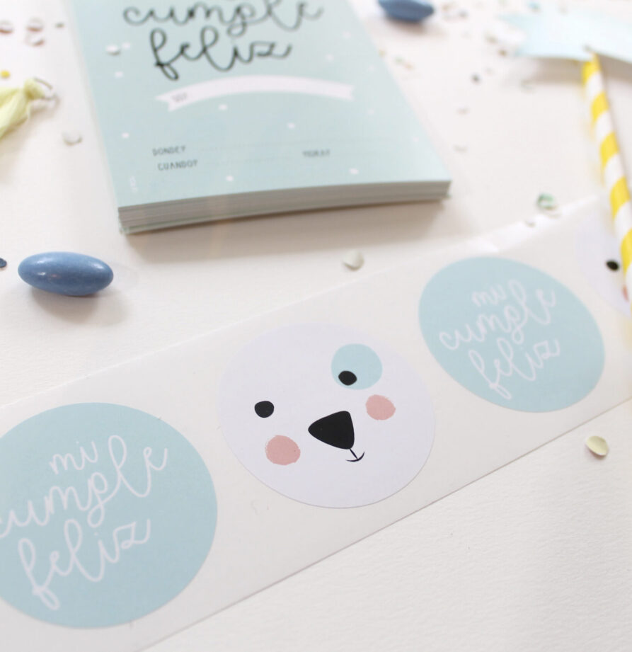 """Stickers """"Polar"""" x 10"""