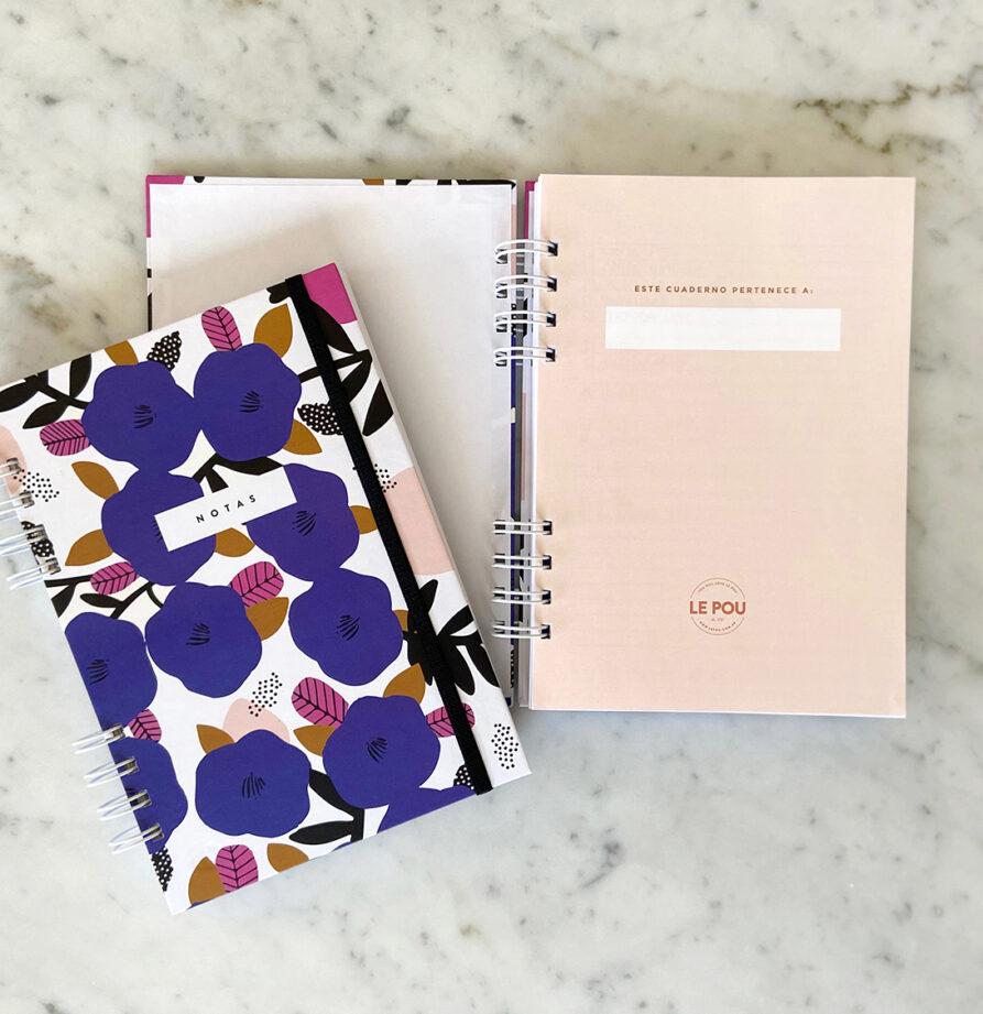 Cuaderno tapa dura Blue