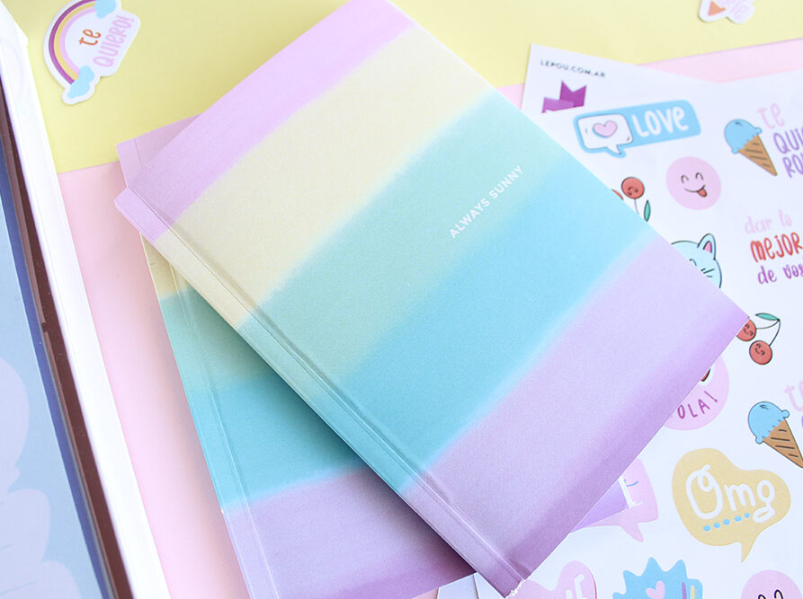Notebook Pastel