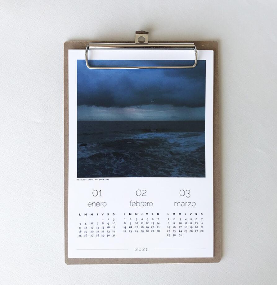Calendario 2021 para colgar
