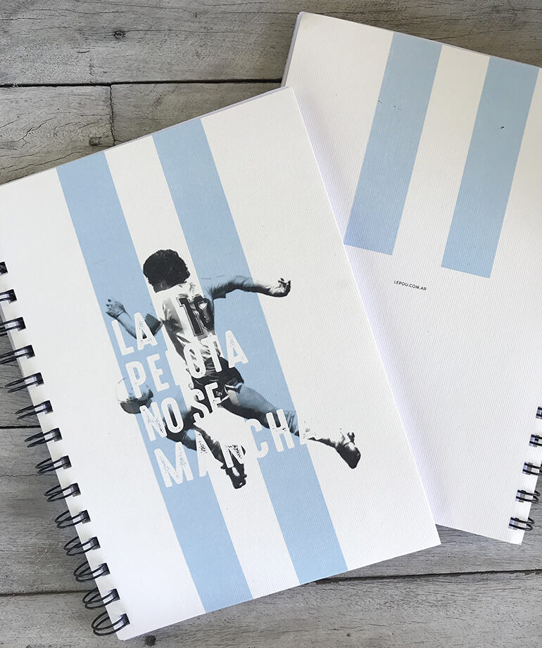 Cuaderno tapa blanda La Pelota no se Mancha