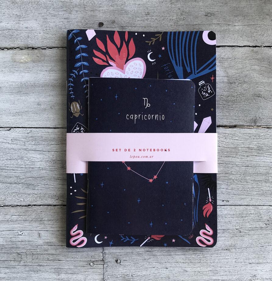 Set de 2 Notebooks Fortune (elegilo con tu signo!)