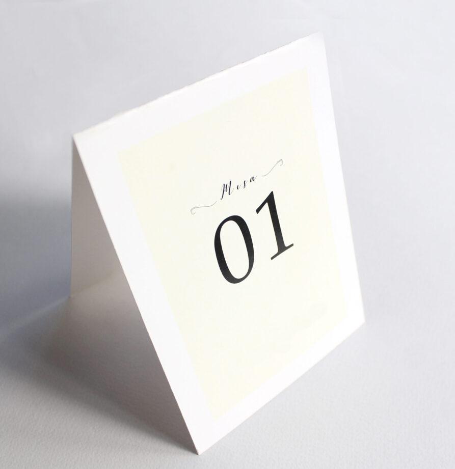 Set de 8 numeros de mesa para modelo Atuel / Toulouse