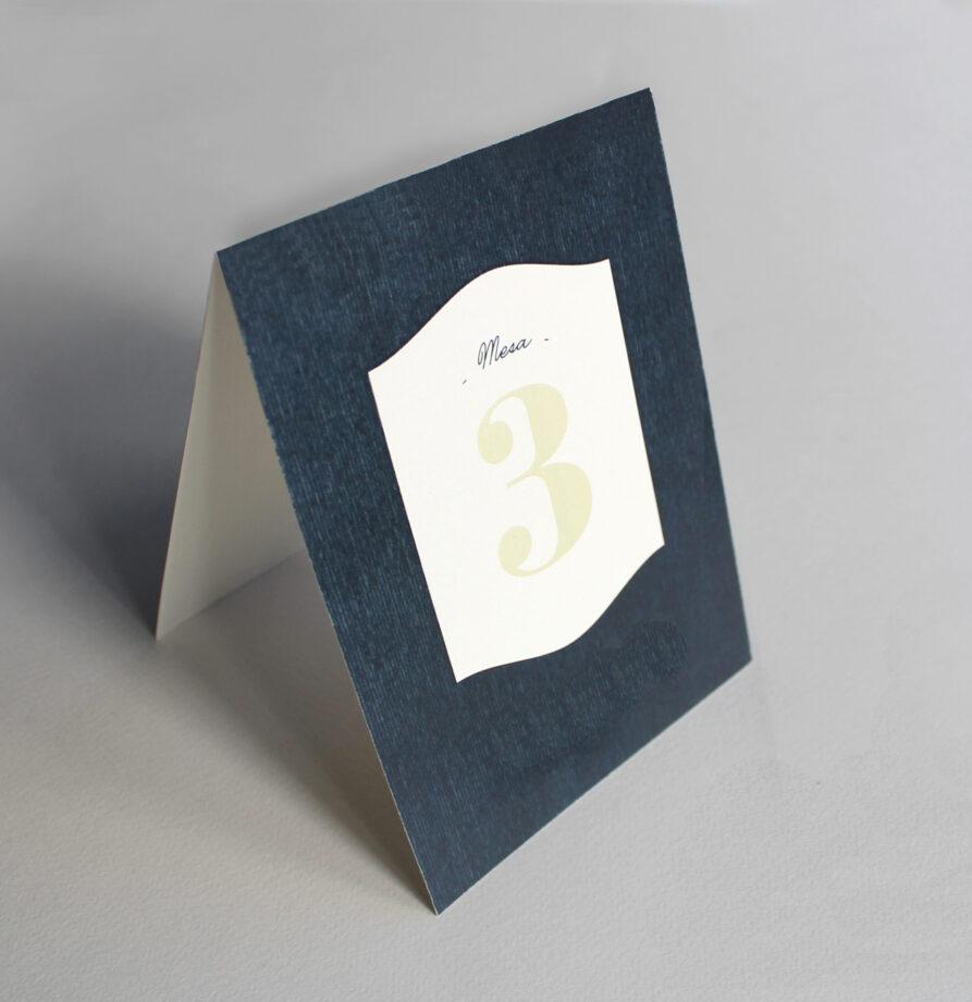 Set de 8 numeros de mesa para modelos Oslo / Noruega