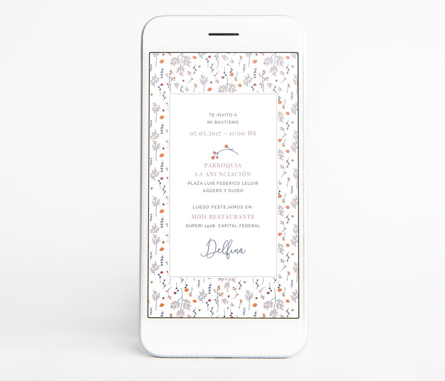 Invitacion Digital Amelia